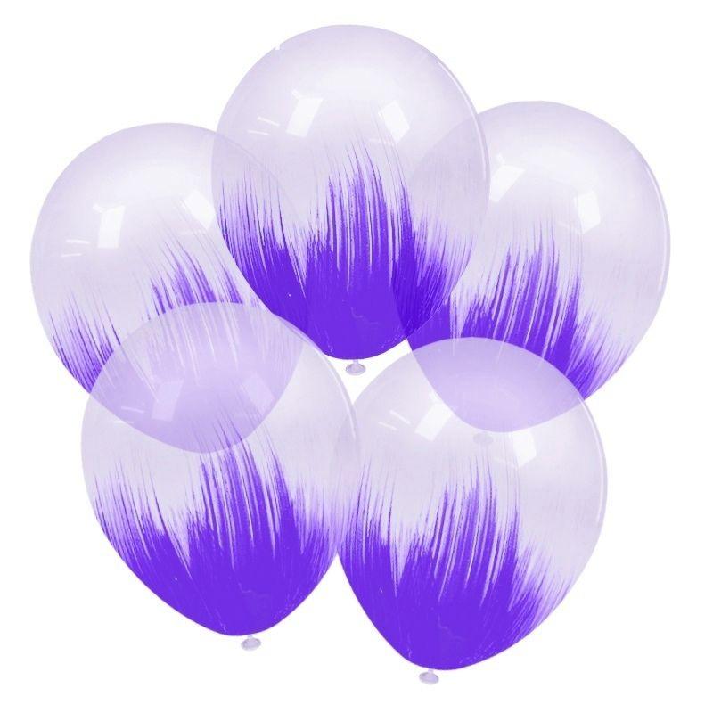 """Шары """"Браш"""" (фиолетовый)"""