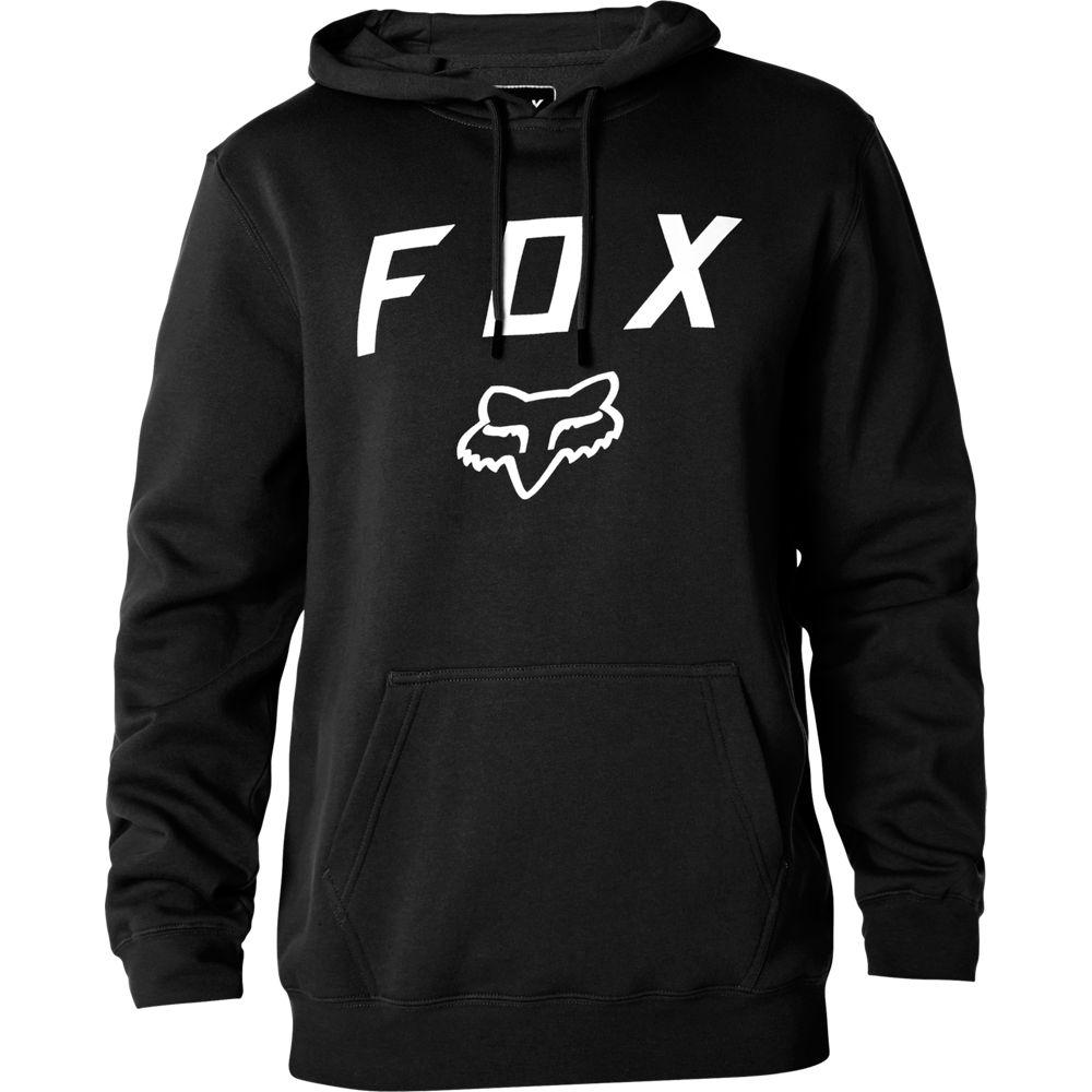 Fox Legacy Moth PO Fleece Black толстовка