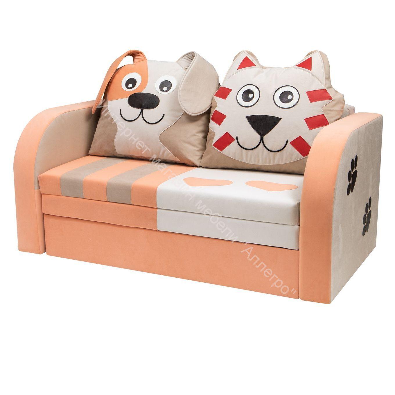 Диван для детской Кот и Пёс