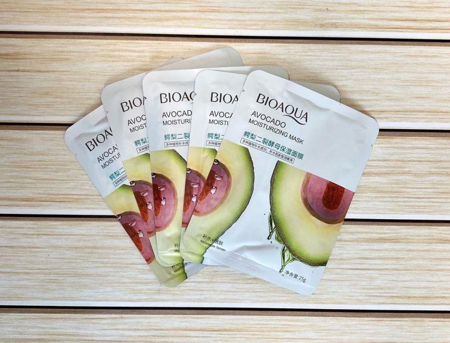 Маска для лица Bioaqua с экстрактом Авокадо