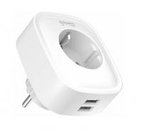 Умная розетка Gosund Smart plug 2 USB outlet, total 2.1A (RU/EAC)