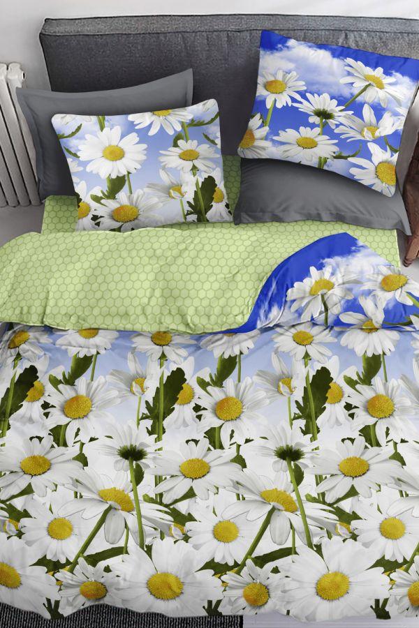 Бязь [в ассортименте] PAVLine Ромашки Семья постельное белье