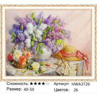 Алмазная мозаика на подрамнике HWA3726, Дандорф Ольга, Букет