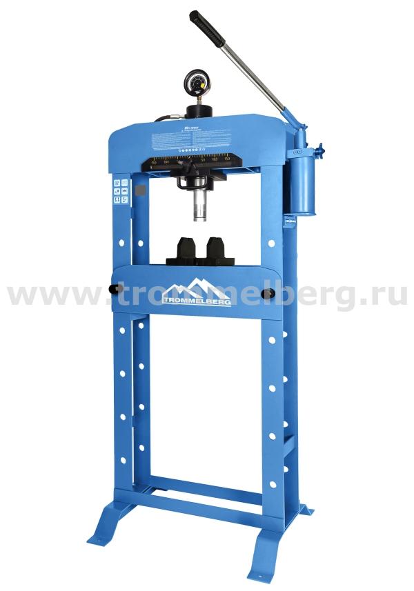 Пресс гидравлический напольный на 20 т с манометром SD20020EM
