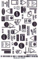 3D Слайдер-дизайн - MN-BLACK 00005 надписи