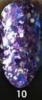 Akinami Суперсияющий глиттер гель 10