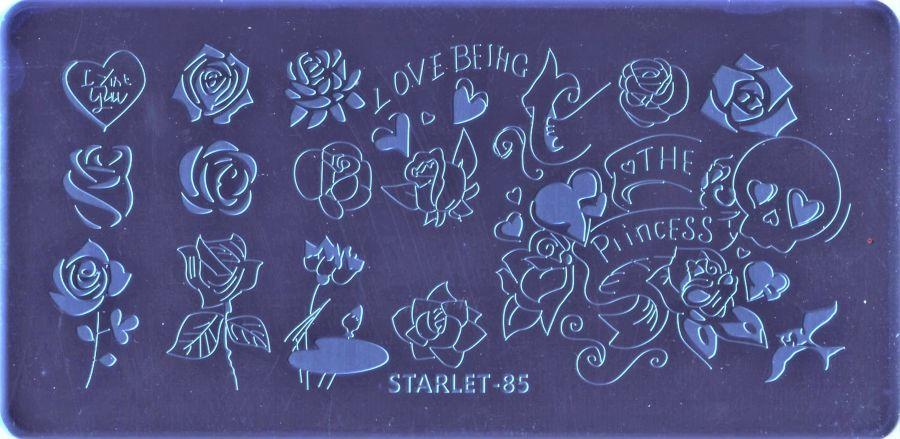 Стемпинг плитка высшее качество  STARLET-85