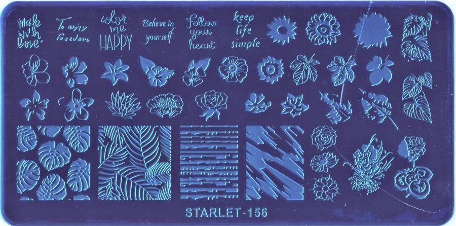 Стемпинг плитка высшее качество  STARLET-156