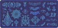 Стемпинг плитка высшее качество  STARLET-56