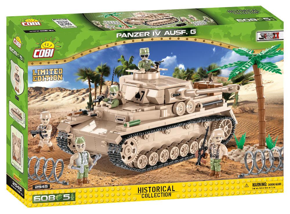 Танк cobi Panzer IV Ausf.G - ограниченная серия