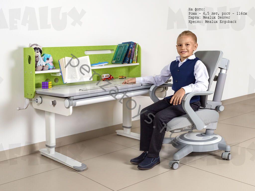 Детская растущая стол-парта Mealux Denver