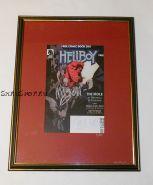 Автографы: Майк Миньола, Дункан Фегредо. На комиксе Хеллбой / Hellboy, 2008 г.