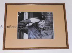 Автограф: Бенни Хилл. Шоу Бенни Хилла / The Benny Hill Show. Фото 1984 года. Редкость
