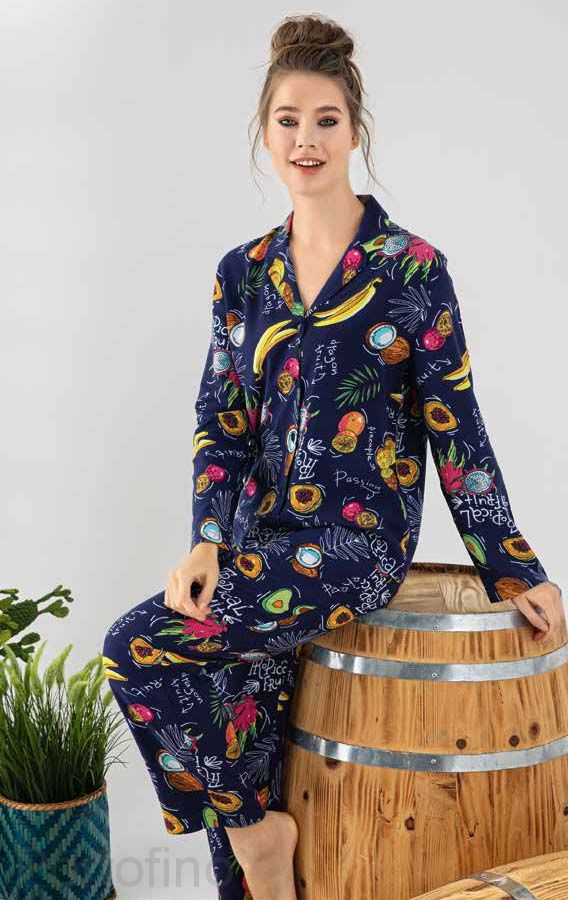 480-024-1 CONFEO Пижама женская авокадо
