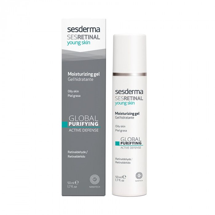 SESRETINAL YOUNG SKIN Moisturizing gel – Гель увлажняющий Sesderma (Сесдерма) 50 мл