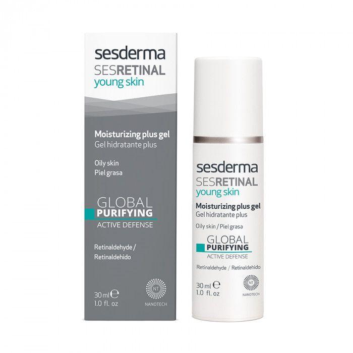 SESRETINAL YOUNG SKIN Moisturizing gel plus – Гель интенсивный увлажняющий Sesderma (Сесдерма) 50 мл