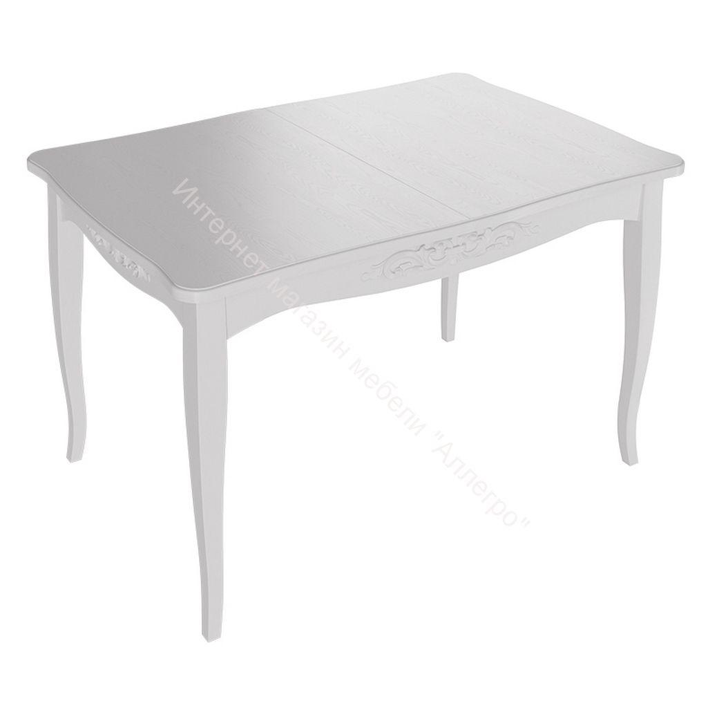 Стол «Бристоль» Тип 1 исп. 2 (Белый матовый/Белый матовый)