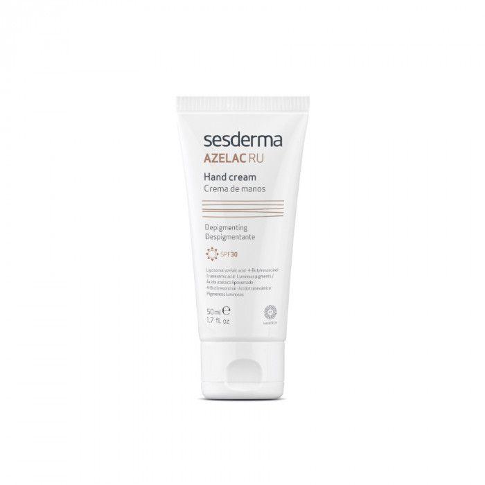 AZELAC RU Hand cream SPF30 - Крем для рук депигментирующий Sesderma (Сесдерма) 50 мл