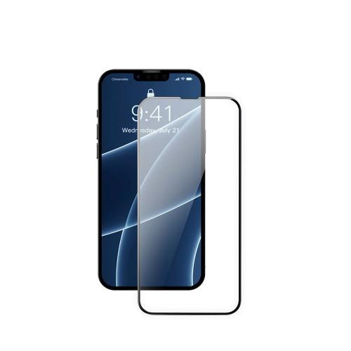 Защитное стекло на iPhone 13 mini с рамкой