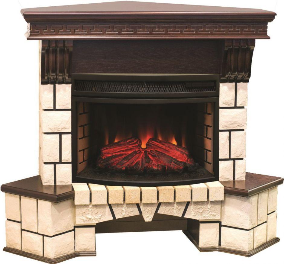 RealFlame Stone New Corner 25 AO с FireField 25 SIR