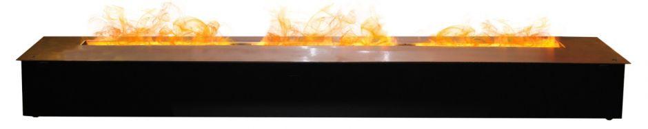 RealFlame Line-S 150 3D Matte Black