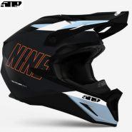 Шлем 509 Altitude 2.0 - Dark Ops With Orange