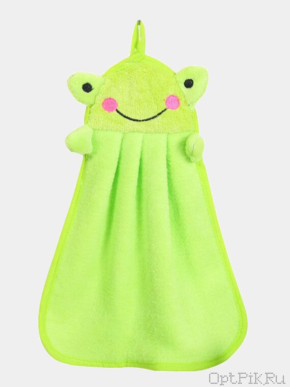 """Детское полотенце для рук """"Лягушка"""""""