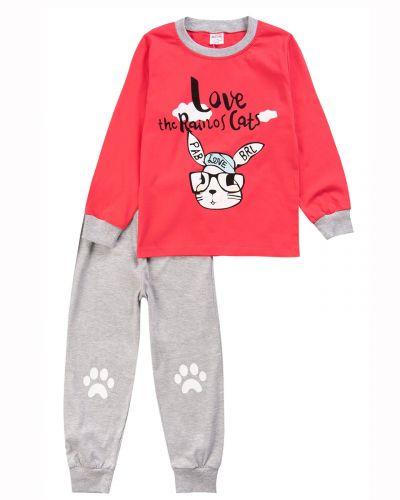 Пижама для девочки 3-7 лет Bonito Animals BK1548D