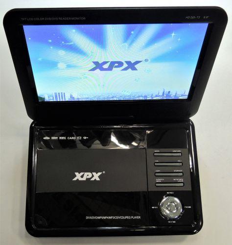 """Портативный DVD-плеер XPX EA-9099L - 9,8"""" (Цифровой тюнер DVB-T2, USB, DVD)"""