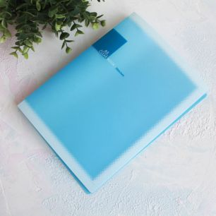 Папка для выкроек формата А5, голубая