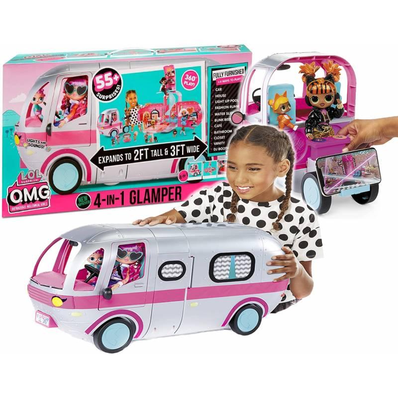 LOL Surprise 576730 Автобус OMG Glamper лол