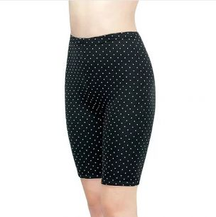 Панталоны женские, 1-82Н, С182Н черные в горох