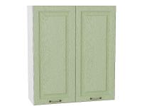 Шкаф верхний с 2-мя дверцами Ницца В809 в цвете дуб оливковый