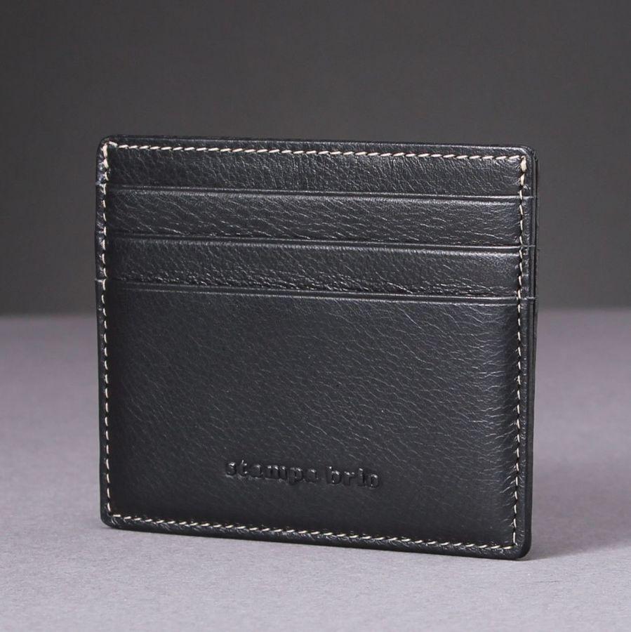 Футляр для карт Stampa Brio 525-1410C Black BGS