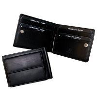 Зажим для купюр Stampa Brio 701-3269C Black BKS