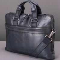 Кожаная мужская сумка-портфель Stampa Brio