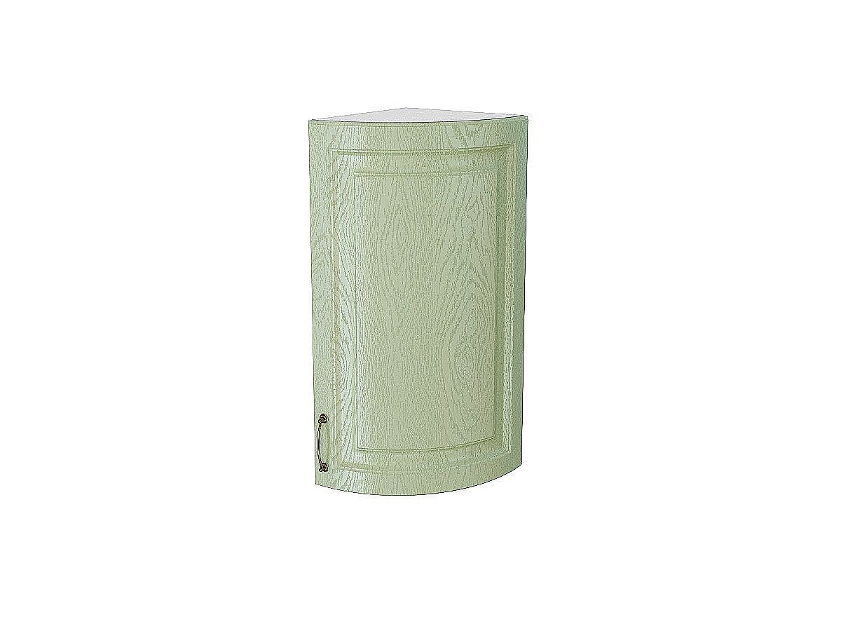 Шкаф верхний торцевой радиусный Ницца ВТ300S (дуб оливковый)