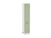 Шкаф пенал с 2-мя дверцами Ницца ШП400 в цвете дуб оливковый