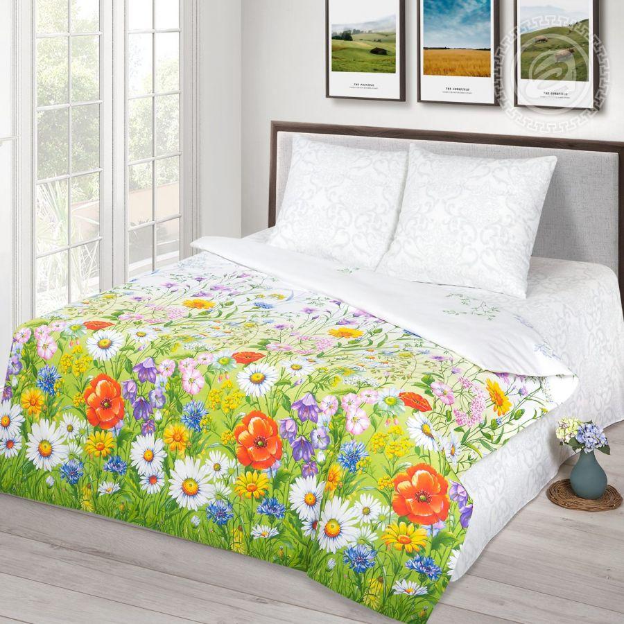 «Родные просторы» (Премиум) постельное белье Бязь 1.5 спальный
