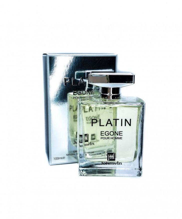 Парфюмерная вода Johnwin Platin Egone Pour Homme 100 мл (ОАЭ)