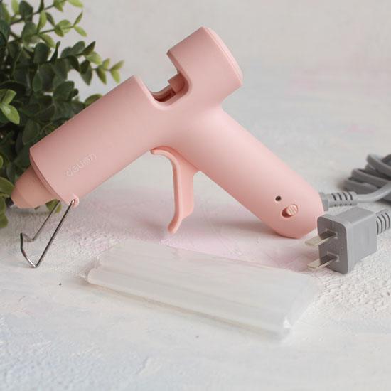 Клеевой пистолет, розовый
