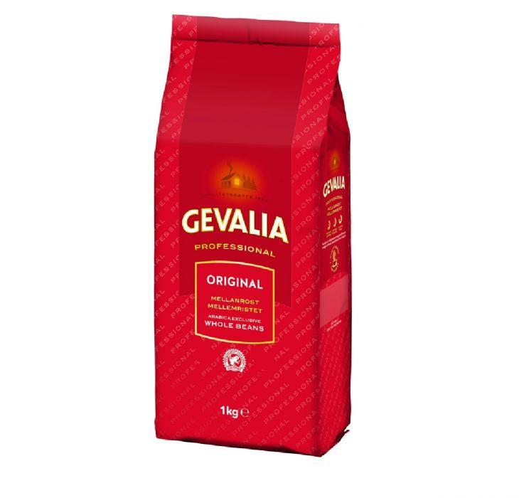Gevalia original Mellanrost кофе в зерне 1 кг