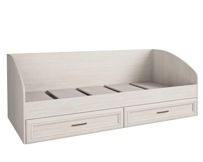 Кровать одноярусная с 2 ящиками Принцесса
