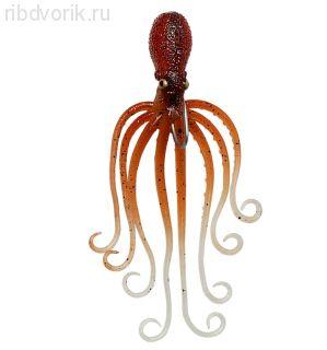 Приманка SG 3D Octopus 10 Brown Glow 63881