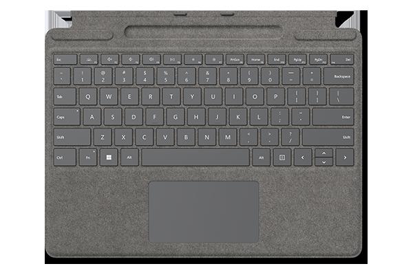 Клавиатура Surface Pro Signature Keyboard Alcantara (Platinum)