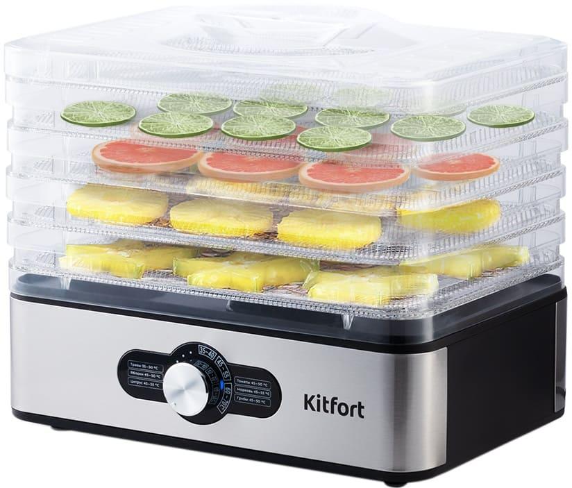 Сушилка для овощей и фруктов KitFort КТ-1913 (НОВИНКА)
