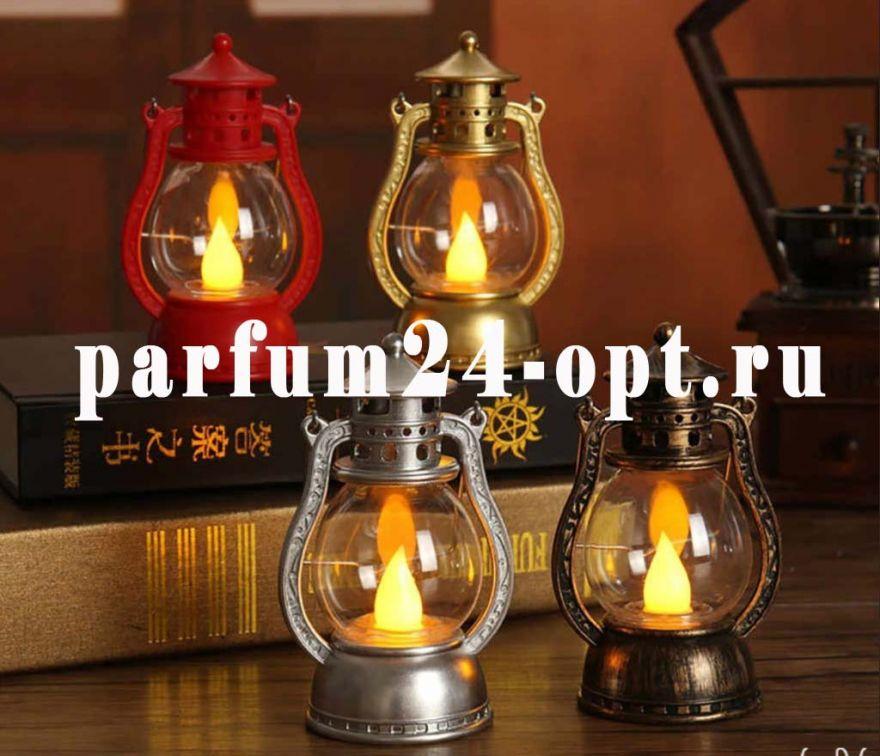 Новогодний светильник 13,5 х 6,5 см (цвета в ассортименте)
