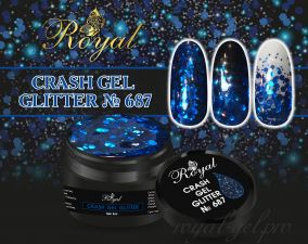 687 CRUSH GEL ROYAL 5 м