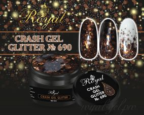 690 CRUSH GEL ROYAL 5 м