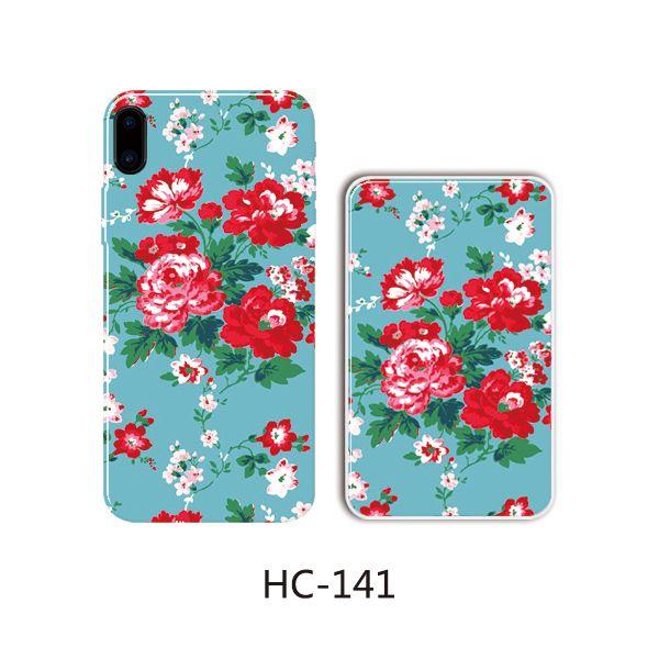 Защитный чехол HOCO Colorful and graceful series для iPhone 6 Plus/6S Plus (красные цветы)